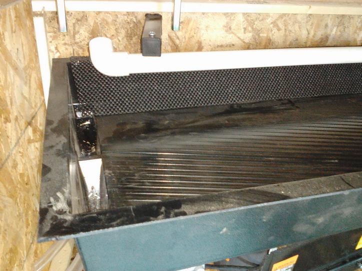 Упаковка вибростола концентратор для доводки золота Keene Eng RP4